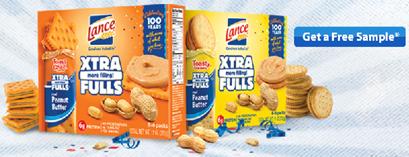 Walmart FREEbie: Lance Xtra Fulls Crackers!