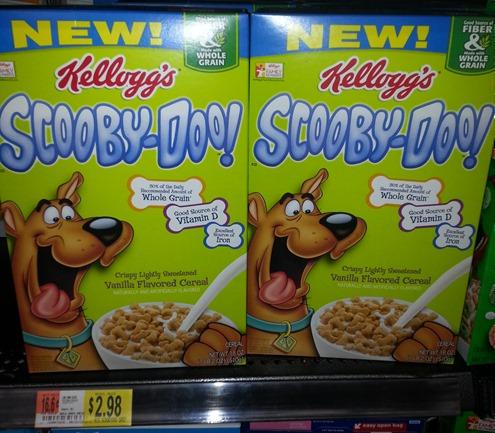 Scooby Doo Cereal