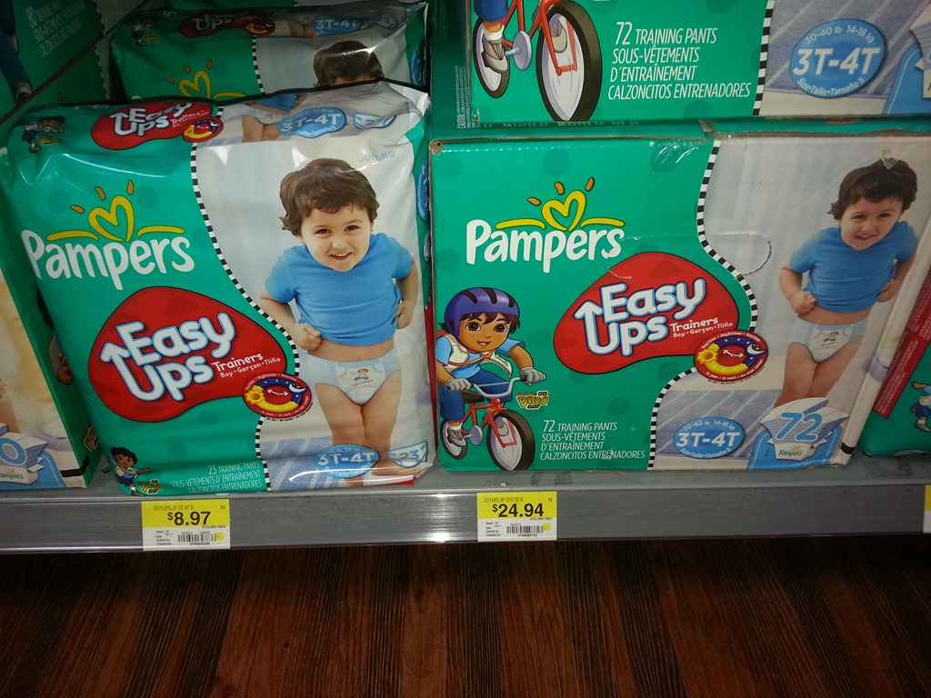 Walmart pampers baby dry coupons
