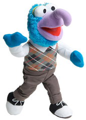 Muppets Gonzo Bendable Plush Toy Just $5 Was $12.99!