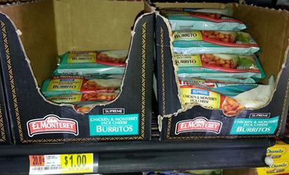 Walmart Coupon Matchup:  El Monterey Supreme Burritos Just $.50