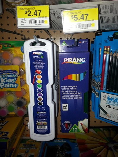 Prang Art Supplies