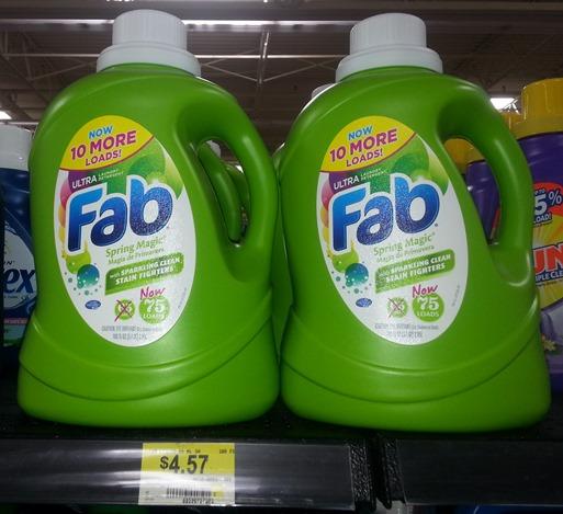 Fab detergent