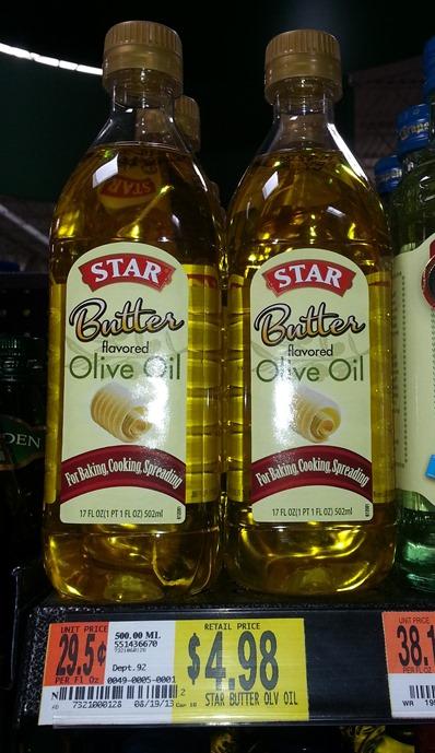 Star Butter Flavored Oilve Oil