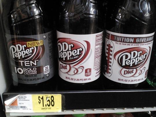 Dr. Pepper 10