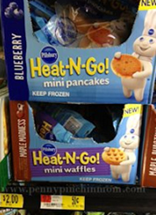 Pillsbury Heat-N-Go Pancakes
