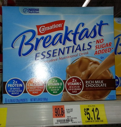 Carnation Breakfast Essentials Shakes