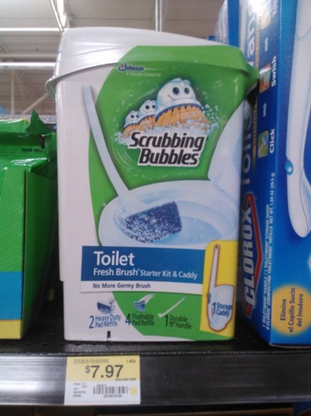 Scrubbing Bubbles Fresh Brush Kits