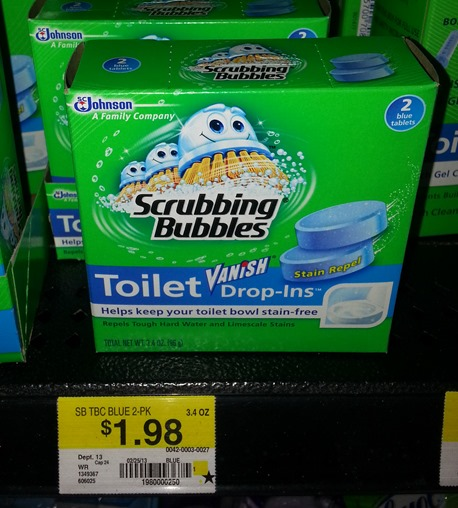 Scrubbing Bubbles Toilet Drop-Ins