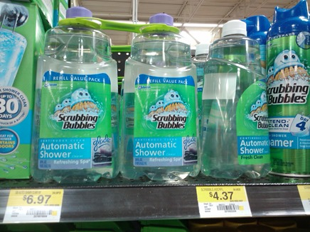 Scrubbing Bubbles Shower Refill 9-19-11