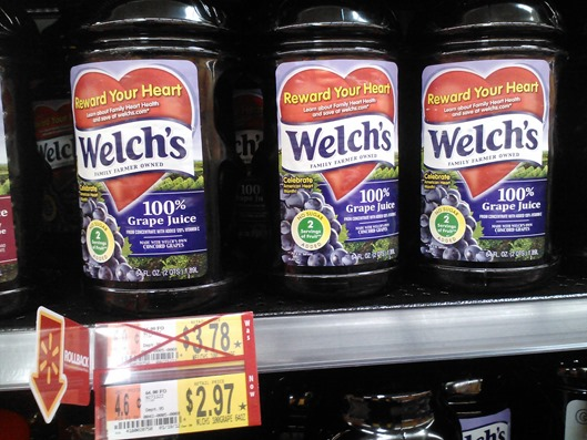 Welch's 100% Juice