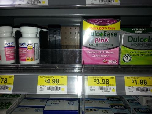 DulcoLax Pink