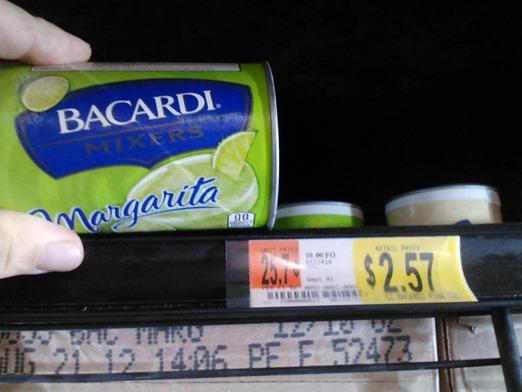 Bacardi Frozen Mixes