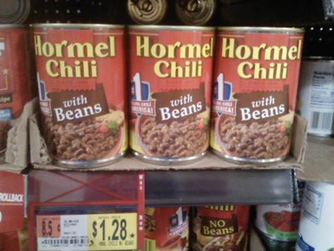 Hormel Chili 1-10-12