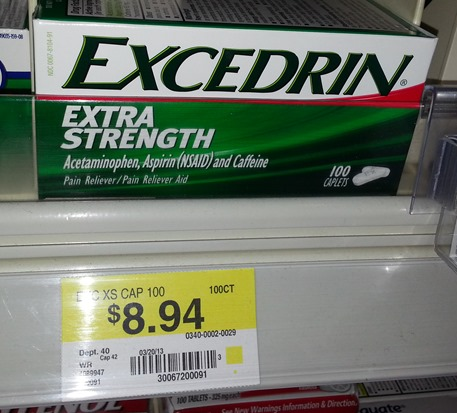 Excedrin 6-13
