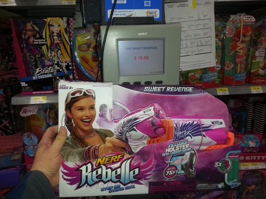 Walmart Carries A Full Line Of Nerf Rebelle Toys Including The