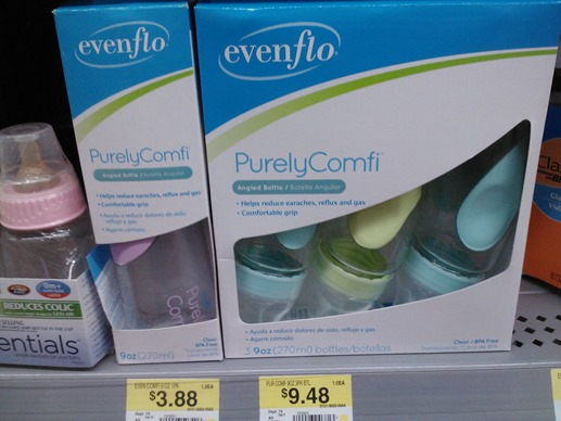 Evenflo 3pk Bottles