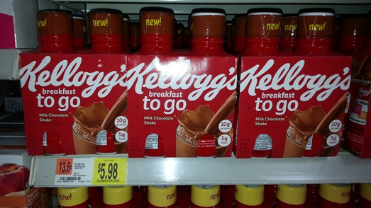 Kellogg's Breakfast to go shakes