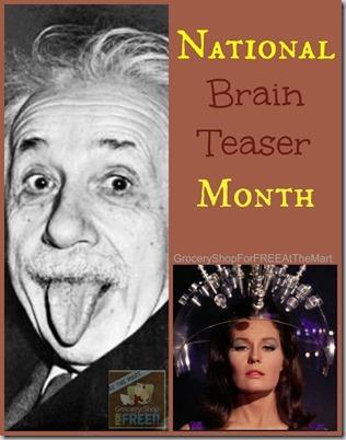 National Brain Teaser Month