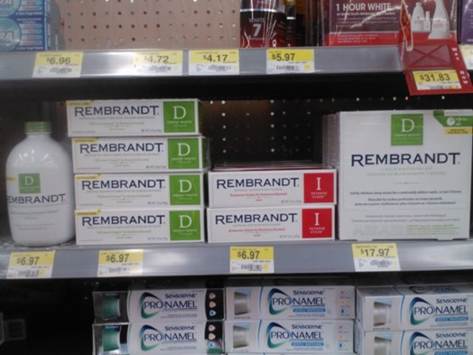 Rembrandt Teeth Whitening Rinse Or Toothpaste Just 4 97 At Walmart