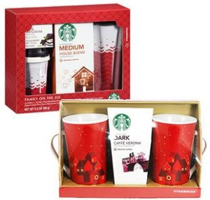 Two Starbucks Gift Sets For Only 10