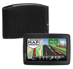 TomTom VIA 1500M SE 5\u2033 Portable GPS with Carrying Case Only $85