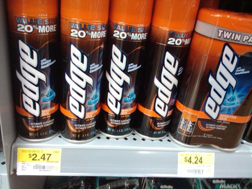 Skintimate or Edge Shave Gel Just $1.74 at Walmart!