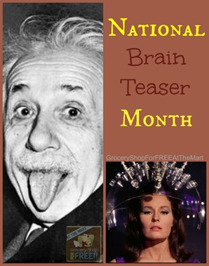 National Brain Teaser Month