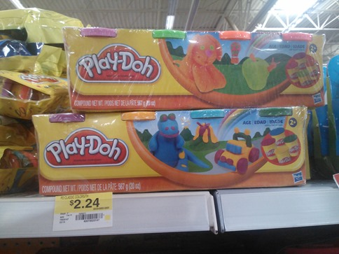Play-Doh 4pks
