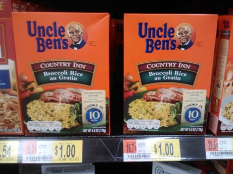 Uncle Ben's Boxed Rice