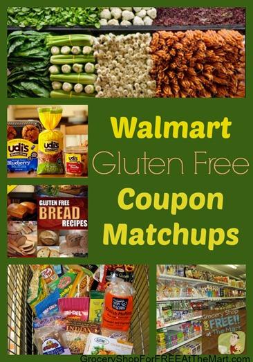 Walmart Gluten Free Coupon Matchups