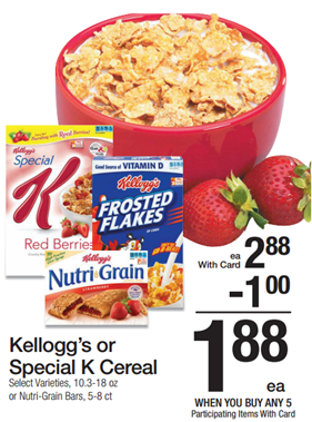 **HOT** FREE Kellogg's Special K Cereal + BIG Overage!
