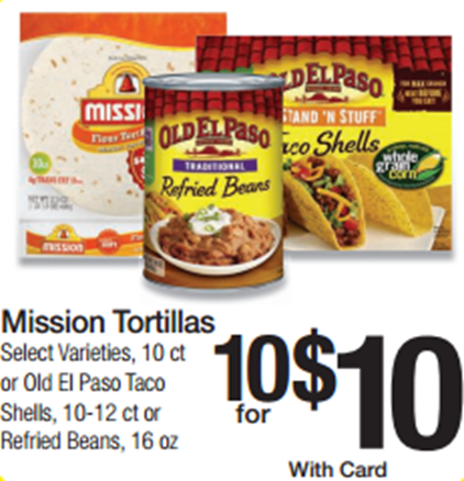 Walmart Price Match Deal Old El Paso Products Just 80 Each