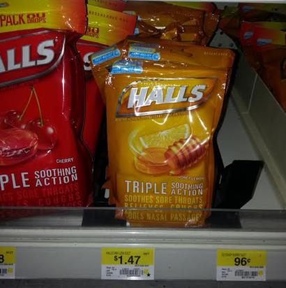 Hall's Cough Drops