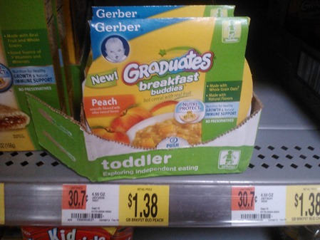 Gerber Graduates Breakfast Buddies