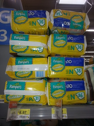 Pampers Baby Dry or Swaddlers Diapers Just $6.97 at Walmart!