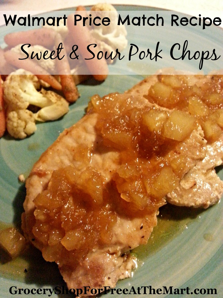Sweet & Sour Pork Chops