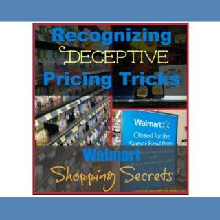 Walmart Shopping Secrets: Recognizing Deceptive Pricing Tricks