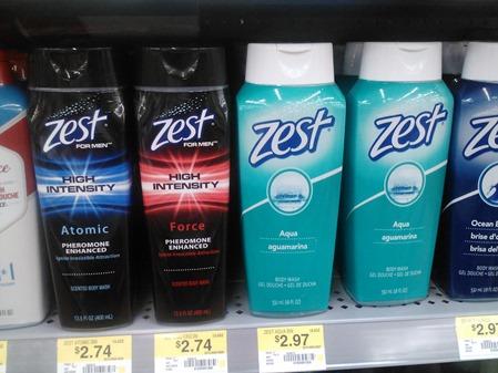 Zest Body Wash 3-27-12