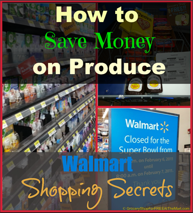Walmart Shopping Secrets: How to Save Money on Produce!