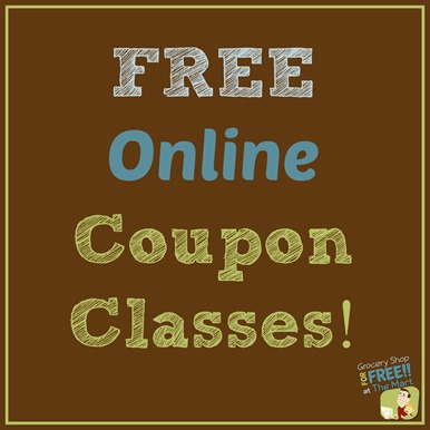 FREE Online Couponing Classes!