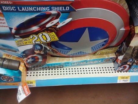 Captain America Shield 10-2-11