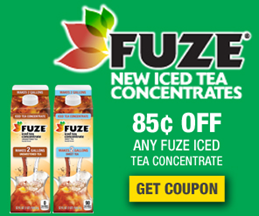 Fuze Tea Concentrate Coupon