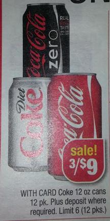 Coca Cola at CVS