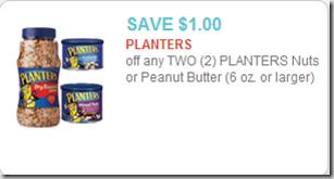 Planters Printable Coupon