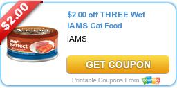 Iams Wet Cat Food coupon
