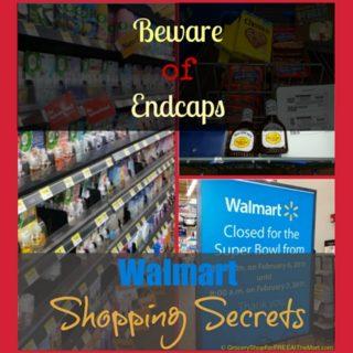 Walmart Shopping Secrets: Beware of Endcaps