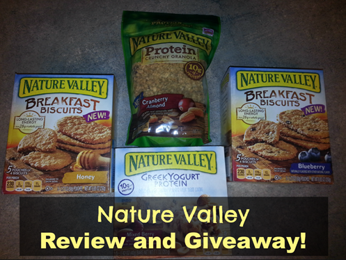 Nature Valley Review and Giveaway