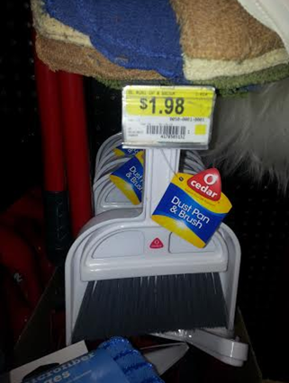 Dust Pan And Broom
