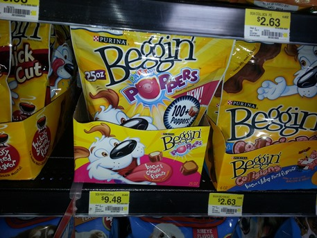 Purina Beggin' Dog Treats 25oz Just $6.48 At Walmart!